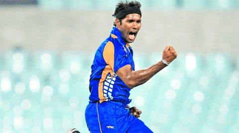 Bengal's Ashok Dinda took three wickets for 13 runs in the quarterfinal match against Tamil Nadu on Tuesday (PTI)