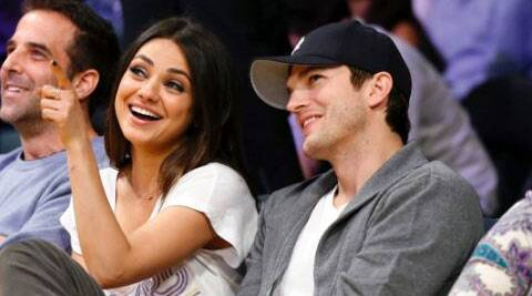 Ashton Kutcher wanted to take a traditional approach and decided to have a chat with his girlfriend's father.
