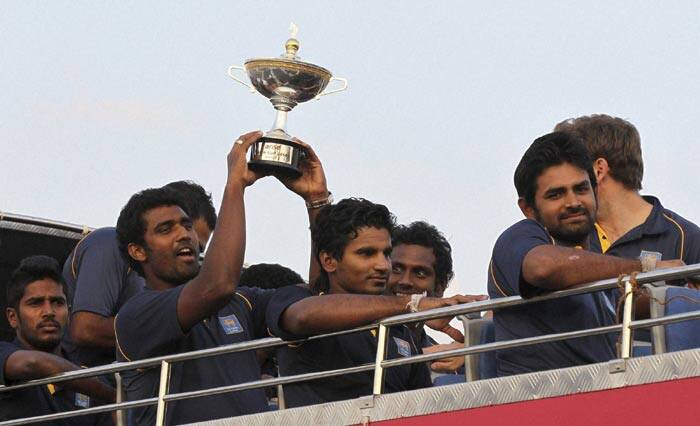 Sri Lanka skipper Angelo Mathews said the side were delighted to annexe the Asia Cup (AP)