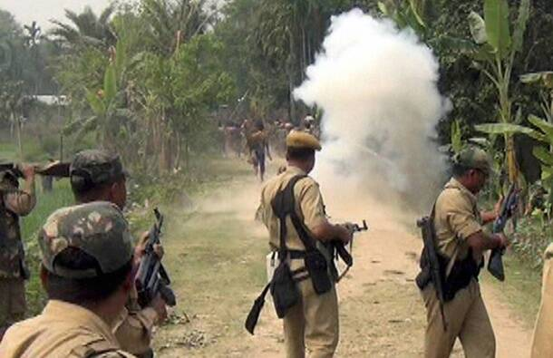 One killed, 4 injured in police firing in Assam