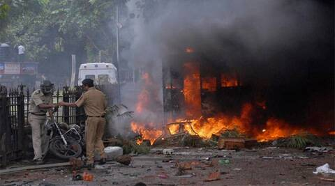Two youths were killed and 52, including 44 policemen, injured in the August 11, 2012 riots. (Reuters)