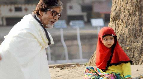 Amitabh Bachchan shooting for the third phase of 'Khushbhoo Gujarat Ki' ad campaign.