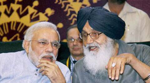 Badal said Modi had assured him that no one would be displaced from Gujarat. (PTI)