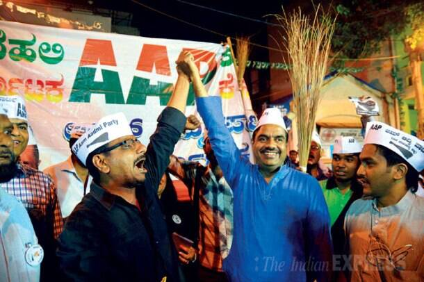 High-tech campaigns of Nandan Nilekani, V Balakrishnan