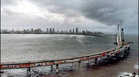 Bandra-Worli sea link in Mumbai. (Express archives)