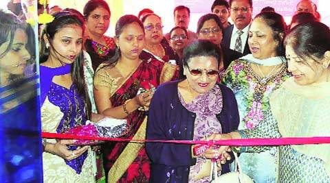 Inauguration of all-women's branch of Indian Overseas Bank in Ludhiana. (Express)