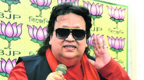 Bappi addresses media at BJP party office in Kolkata, Thursday. (Express Archive)