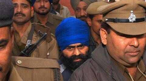 Bhullar was convicted and awarded death penalty for triggering a bomb blast in New Delhi in September 1993, which killed nine persons and injured 25 others.