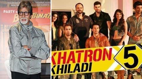 Big B will be introducing director Rohit Shetty.