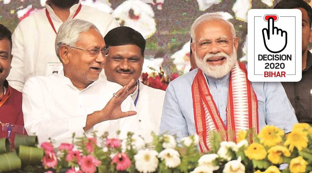 Defying exit polls, BJP-JD(U) set to return, Chirag cuts their votes