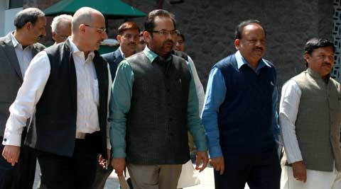 BJP also alleged that some foreign forces were behind such violent incidents. (IE Photo)
