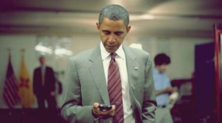 US President Barack Obama is a self confessed BlackBerry fan. (Source: Crackberry.com)