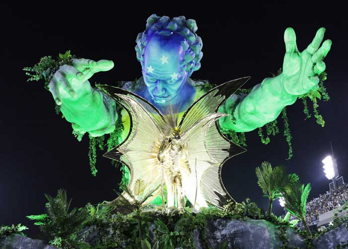 Brazil's extravagant Carnival makes way for soccer world cup