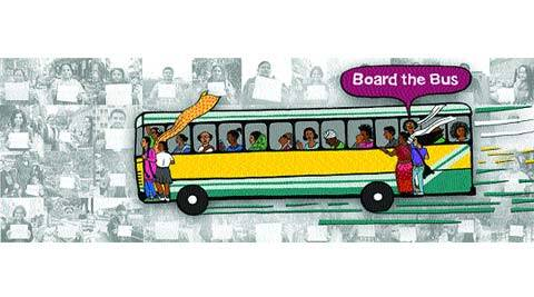 Keeping the brutal December 16 rape in mind, Board the Bus campaign is an initiative directed to make the streets more safe for women.
