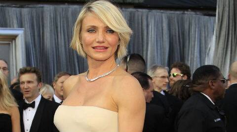 Cameron Diaz: I exist for all my girlfriends. (Reuters)