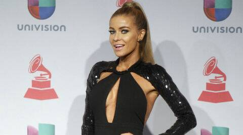 Carmen Electra: I feel more comfortable now. Less nervous. I feel like I'm in a really good place in my life. (Reuters)