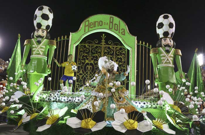 It's the last big event that Brazil hosts before the World Cup, international football's showcase tournament that opens in 12 cities across the nation in June. (Reuters)