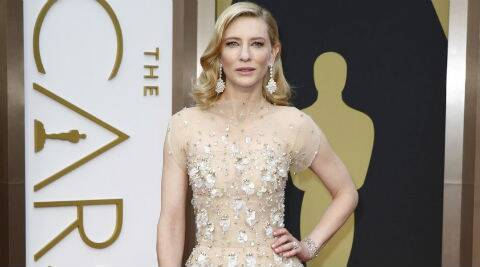 Cate Blanchett was seen visiting the Shamrock Social Club with her husband Andrew and her fellow Oscar nominee Amy Adams. (Reuters)