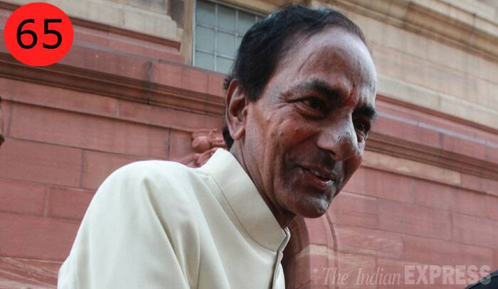 <b>Kalvakuntla Chandrasekhara Rao</b> (60),  President, Telangana Rashtra Samiti<br /> <b>WHY</b>: For walking away with a new Telangana state after relentlessly piling pressure on the Congress. Just a few years ago, his party was in tatters but in November 2009, he launched an indefinite hunger state that forced a panicky UPA to give in.