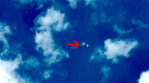 China's Xinhua News Agency reported Wednesday that the image show suspected debris from the missing aircraft. (AP)