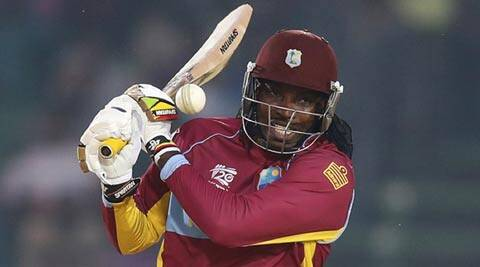 Chris Gayle scored 58 (not out) on Tuesday (AP)