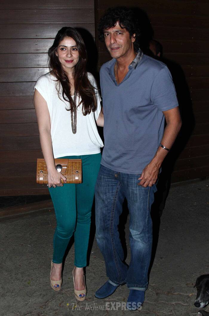 Actor Chunky Pandey and his pretty wife Bhavana were also present. (Photo: Varinder Chawla)