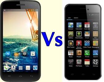 Micromax Canvas Turbo Mini A200 versus the Lava Iris Pro 30