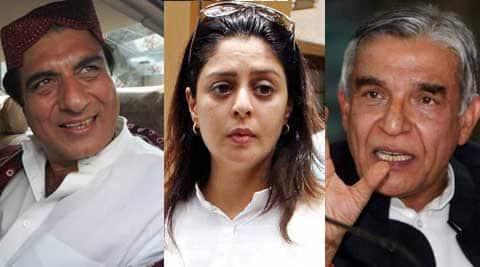 Congress fielded Nagma from Meerut, Raj Babbar from Ghaziabad and Rita Bahuguna Joshi from Lucknow.