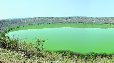 Lonar crater has sediments deposited over 5,70,000 years