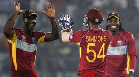 Darren Sammy wants his team to silence the chirpy Australians in Friday's World Twenty20 match (Reuters)