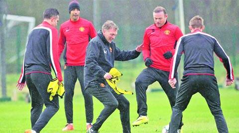 David Moyes' Manchester United are currently seventh in the Premier League (File)