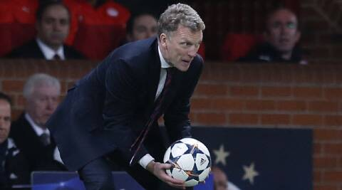 David Moyes said that he was thrilled Manchester United were in the Champions League quarterfinals and it did not matter who they drew. (Reuters)