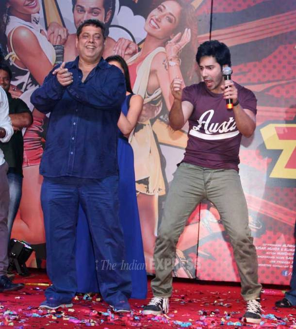 Varun, Nargis unveil Main Tera Hero music