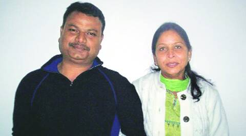Sangeeta Richard and her husband Philip Richard
