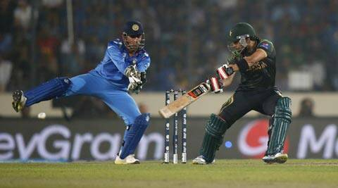 India beat Pakistan by seven wickets in the ICC World T20 opener on Friday (AP)