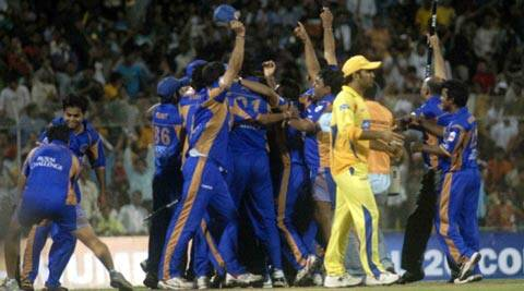 Out of six editions of the Indian Premier League, Chennai Super Kings and Rajasthan Royals put together have won half of them (File)