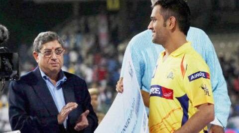 BCCI on the last date refuted Dhoni having ever told the panel that Mayeippan was only a cricket enthusiast and had nothing to do with CSK.