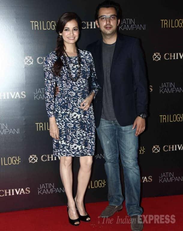 Bollywood's fashionistas - Lara Dutta, Dia Mirza