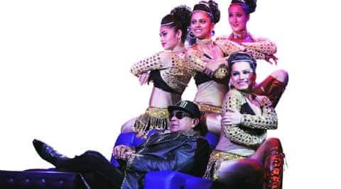 Mithun Chakraborty in DID Li'l Masters