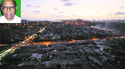 According to voters,  Eknath Gaikwad has failed to take any initiative to execute the Dharavi Redevelopment   project (IE photo)