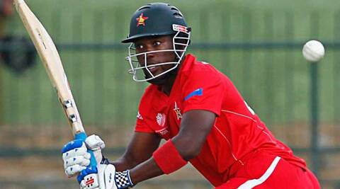 Elton Chigumbura scripted Zimbabwe's victory over UAE with a fine fity. (AP)