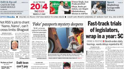 Five best stories of Indian Express you must read before beginning your day.