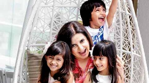 Farah Khan has three children.