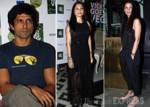 Farhan, Maria, Mehr attend a book launch
