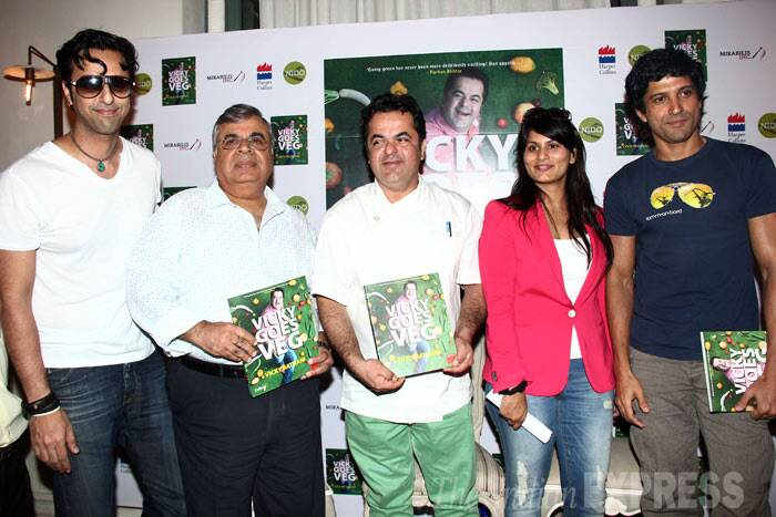 Chef Vicky Ratnani's new book is titled 'Vicky Goes Veg'. (Photo: Varinder Chawla)