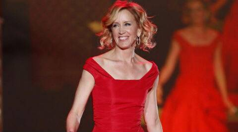 Felicity Huffman played Lynette Scavo on 'Desperate Housewives' for the show's entire eight-season run. (Reuters)