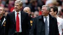 Alex Ferguson congratulates Wenger on managerial milestone