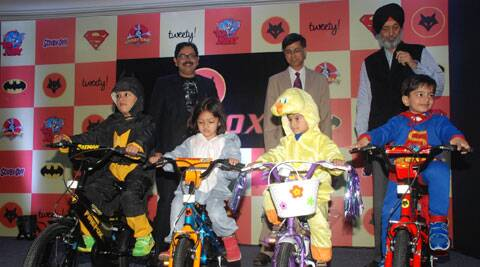Firefox Bikes launches their Warner Bros inspired bicycles for kids in New Delhi.