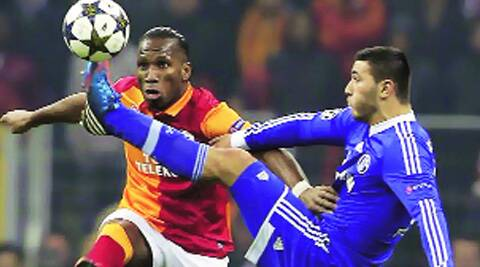 Drogba's last kick for Chelsea, a penalty, won the English side their only Champions League title two years ago. (file)