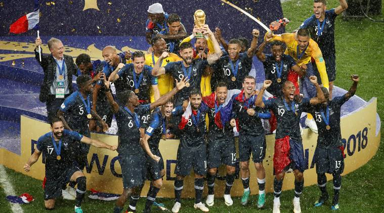5d14a1854 FIFA World Cup 2018 winners  France win second title in 20 years ...